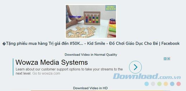 Cách tải video Facebook về máy tính trên mọi trình duyệt