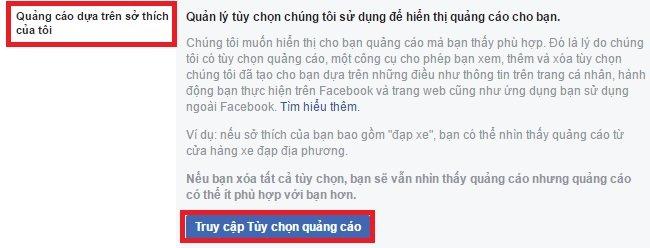 Chặn quảng cáo trên Facebook bằng cách đơn giản sau