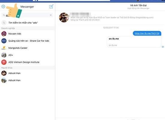 Mẹo khôi phục tin nhắn đã xóa trên Facebook cực kỳ hay