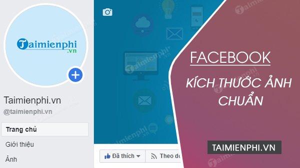 Kích thước ảnh chuẩn Facebook 2020