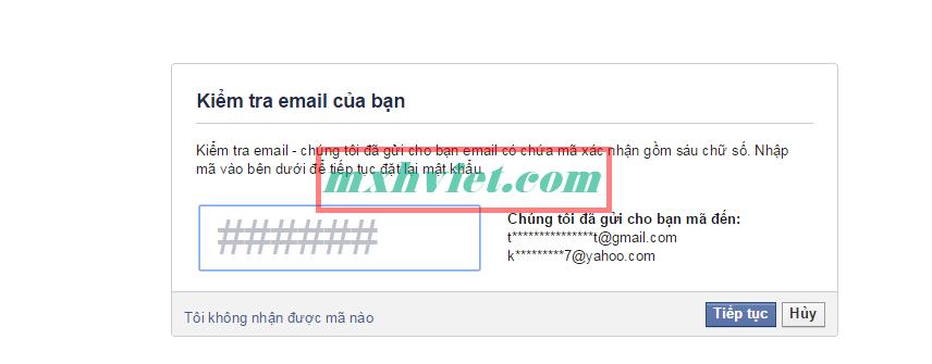 4 cách lấy lại mật khẩu Facebook hiện nay