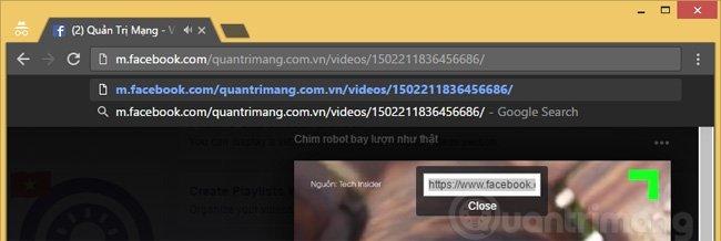 Cách tải video Facebook về máy tính nhanh nhất không cần phần mềm
