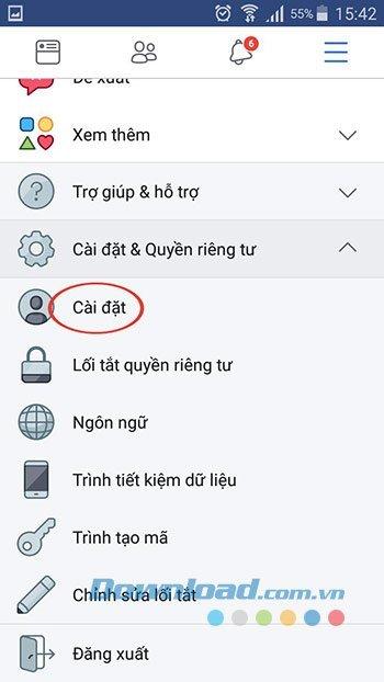 Facebook Cai Dat 2