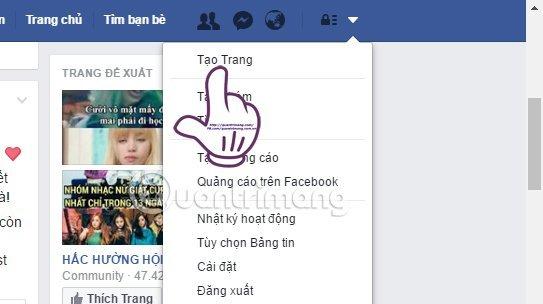 Facebook Fanpage Tao Trang 1