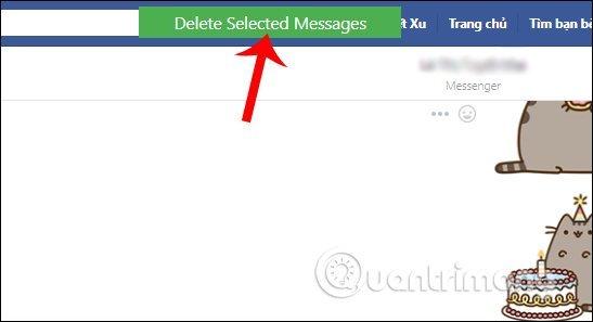 Cách xóa tin nhắn trên facebook đơn giản