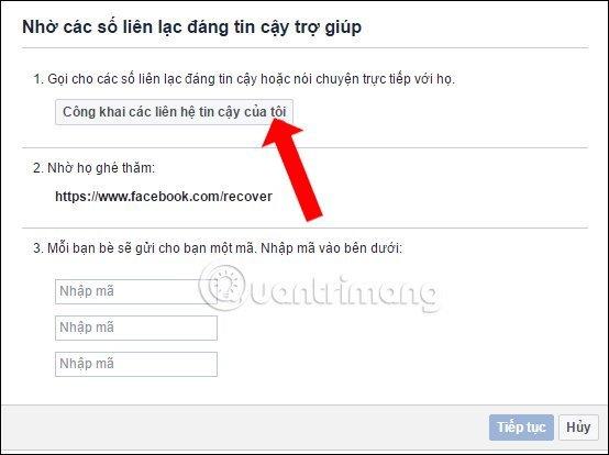 Quên mật khẩu facebook phải làm sao?