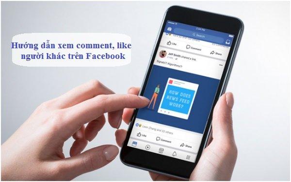 MẸO xem tất cả bình luận của người khác trên facebook