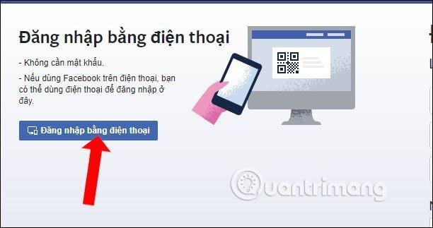 Cách đăng nhập Facebook máy tính bằng mã QR tiện lợi