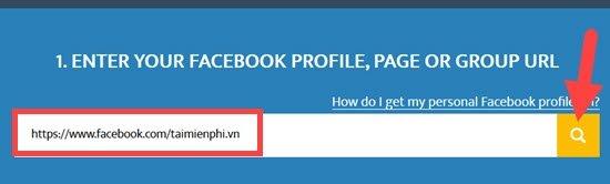 Cách tìm id facebook của người khác