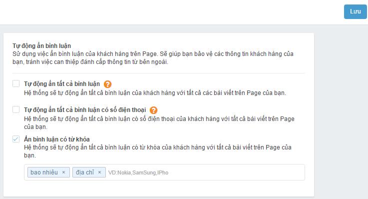 phần mềm quản lý comment, inbox cho fanpage