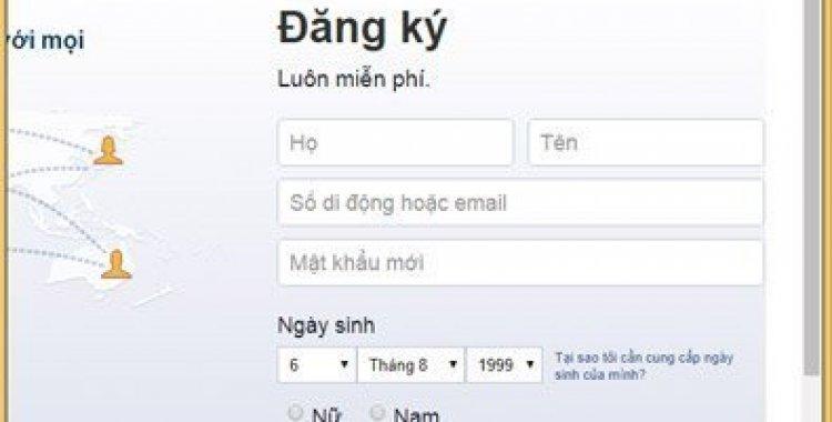 Dang Ky Nick Facebook 2